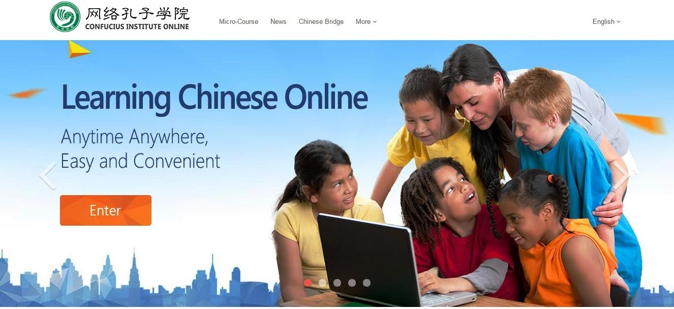 Lerning Chinese online - Hanban